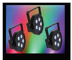 4xSlimPar Uplighting Kit