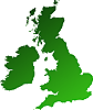 Delivery Info for Par 56 Floor Parcan - BLACK  to locations within the United Kingdom and Ireland