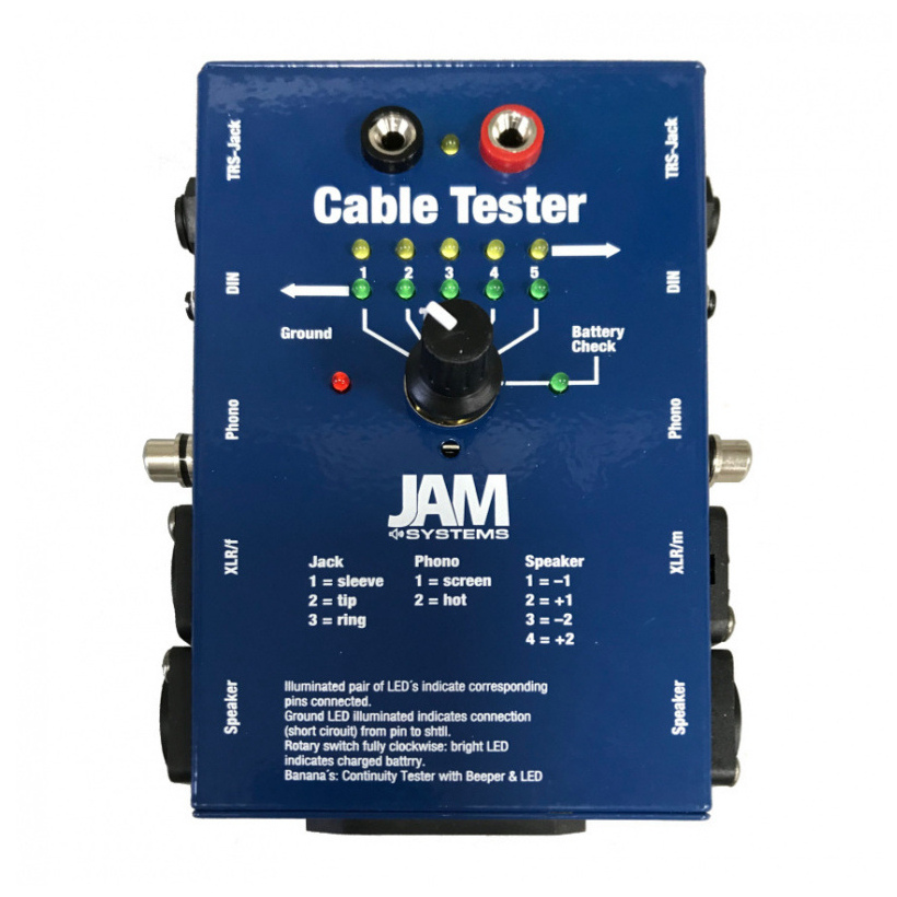 Jam Multi Function Audio Cable Tester 163 14 99 In Stock 7