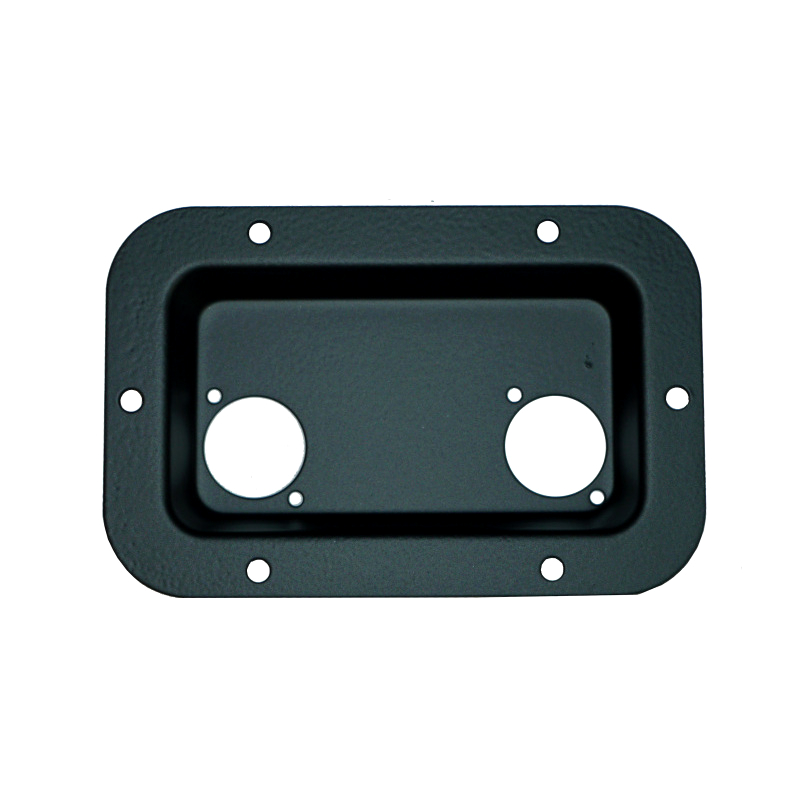 Tuff Cab Recessed Steel Connector Plate For 2 X Speakon