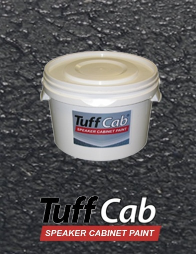 tuff cab heavy duty speaker cabinet paint black 2 5kg ebay