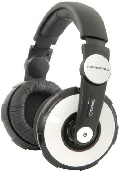 Image of Citronic_DJ_Citronic_Limited_Edition_HP450PRO_DJ_Headphones-_White