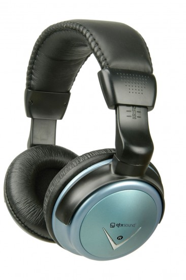 Image of QTX SH40VC Digital Stereo Headphones with Volume Control