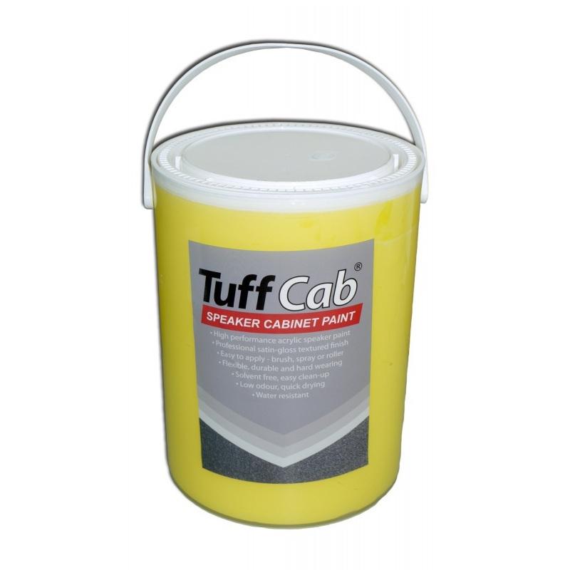 Tuff Cab Speaker Cabinet Paint Ral 1016 Sulphur Yellow 5kg 62 99