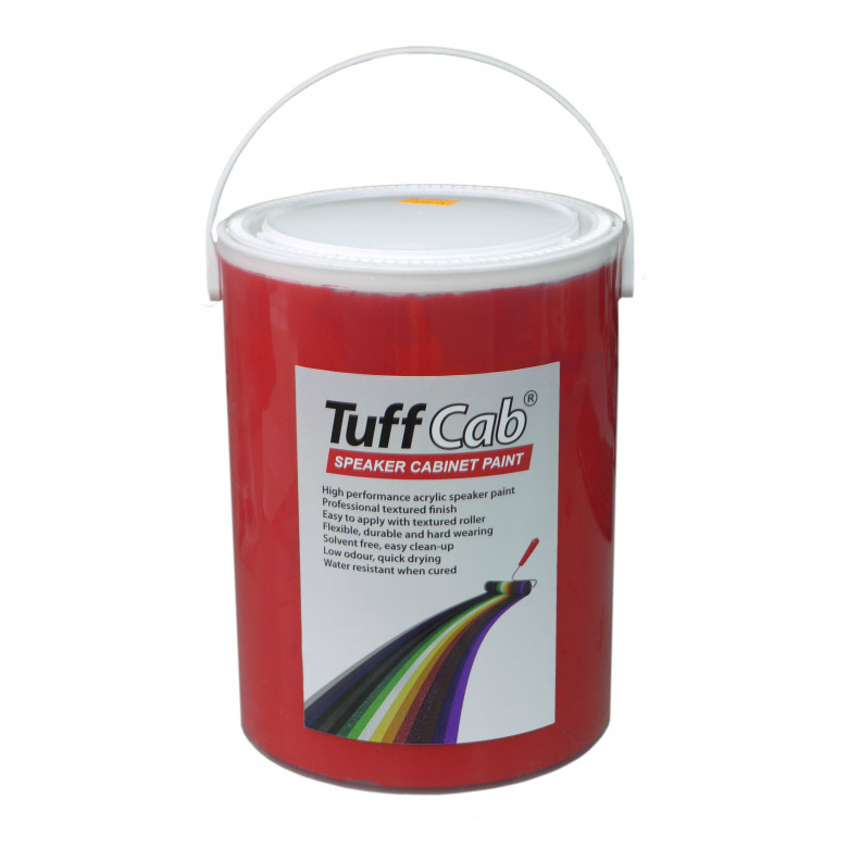 tuff cab speaker cabinet paint signal red ebay