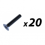Pack of 20 Screw M5 x 30mm pozi Countersunk (suit 3426/7 handle)