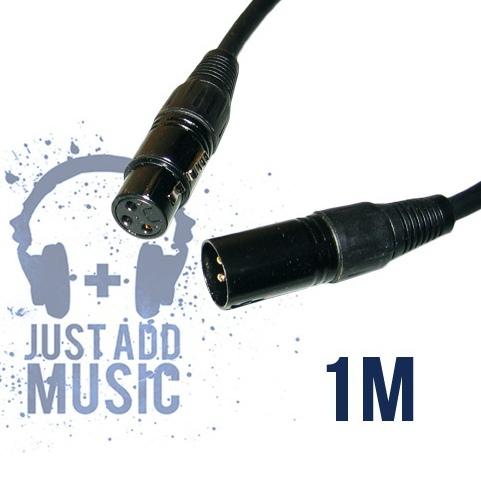 JAM 1m Balanced XLR Mic Cable / Signal Lead