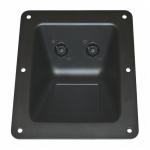 Recessed Dish with 2 x NL4MP Speakon & Screw Terminal