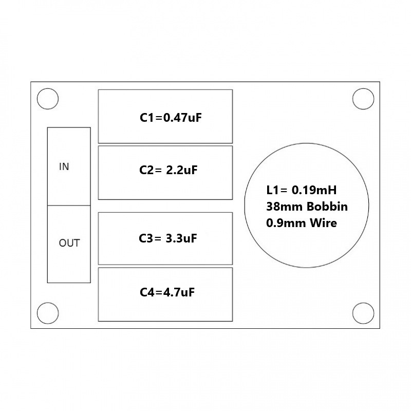 Convair Electronics High Pass Filter 5kHz 18dB