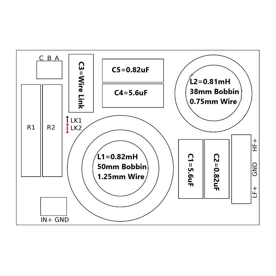 Convair Electronics 2-way Crossover 2.2KHz