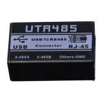 dB-Mark UTR485 USB to RS485 Converter for control of DP Processors over RJ45
