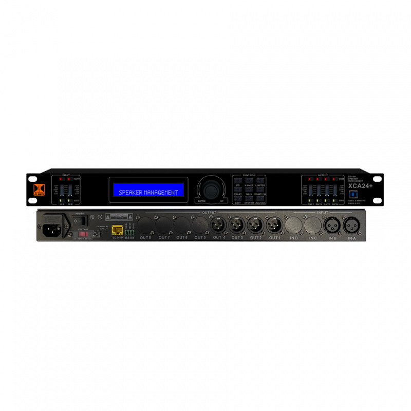 dB-Mark XCA24 PLUS V2 - 2-in 4-out Digital Active Crossover