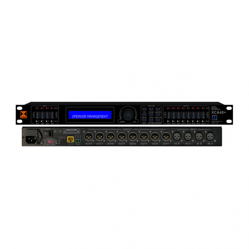 dB-Mark XCA48 PLUS V2 4-in 8-out Digital Active Crossover
