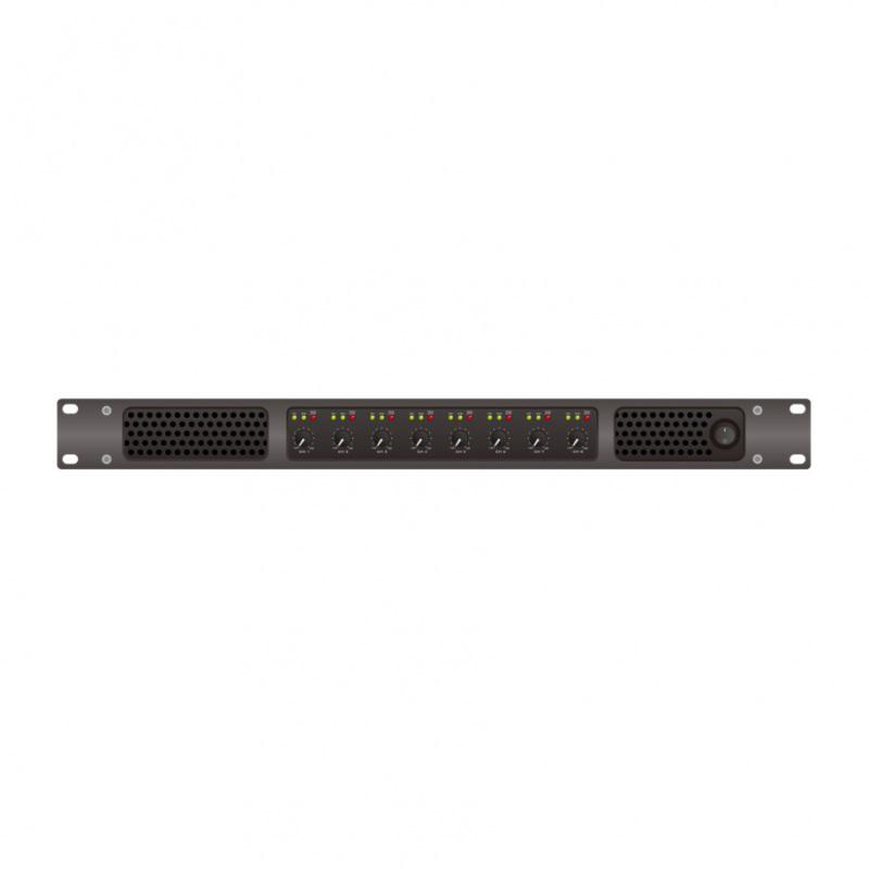 JAM Systems i8 :: 8 x  600W amplifier