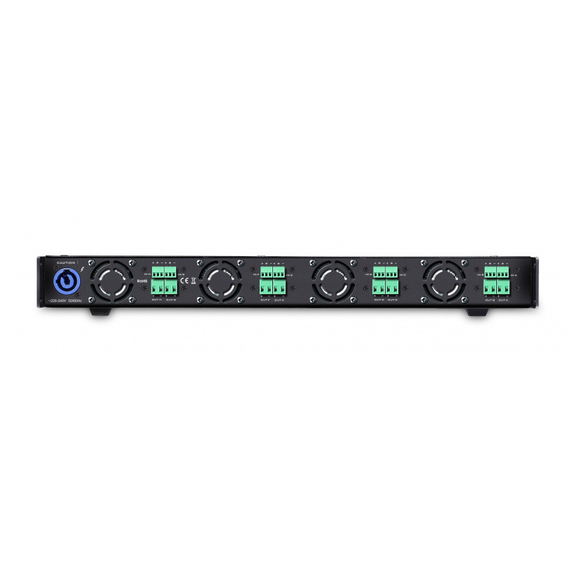 JAM Systems i8 :: 8 x  600W amplifier