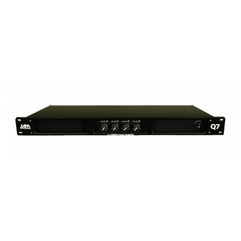 JAM Systems Q3 :: 4 x  600W amplifier