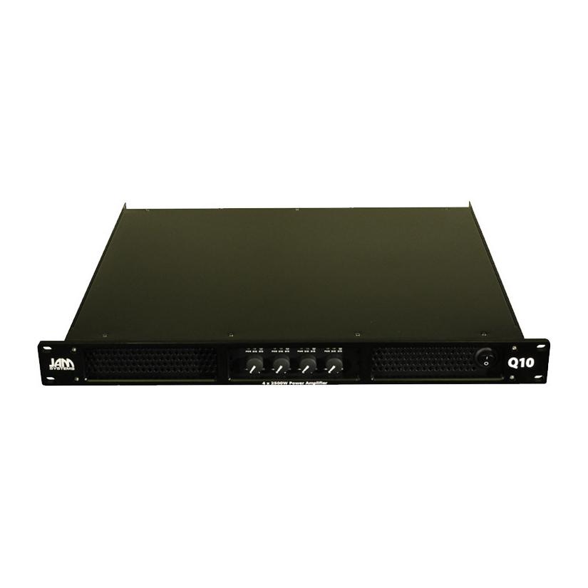 JAM Systems Q10 :: 4 x  2500W amplifier