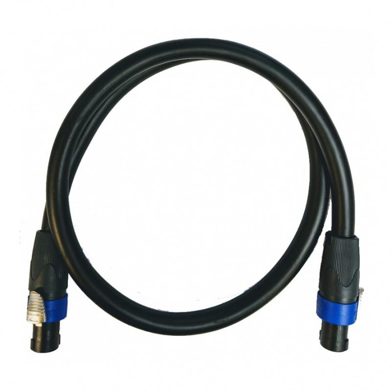 2M Speakon Lead - 4x3mm Speaker Cable with Neutrik NL4FX £19.20