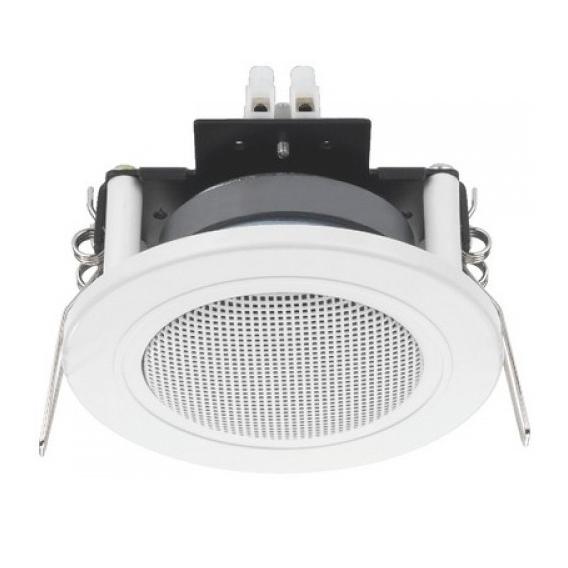 Monacor SPE-82/WS White Flush Mount Ceiling Speaker
