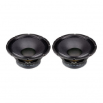 P Audio E12-300S 12 Inch 300W Low Frequency Loudspeaker Driver Twin Pack