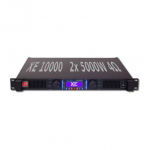 PKN XE10000 1U Class D Amplifier - 2x5000w EIAJ @ 4 Ohm