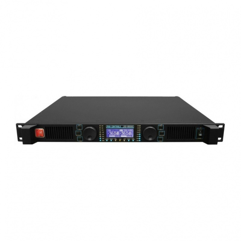 PKN XE4000 1U Class D Amplifier - 2x 2100W @ 4R