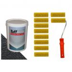 Tuff Cab Speaker Refurb Kit - 5kg paint & 10 textured rollers